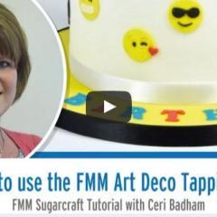 Kako uporbljamo FMM modelčke - izdelamo in pobarvamo dekoracijo