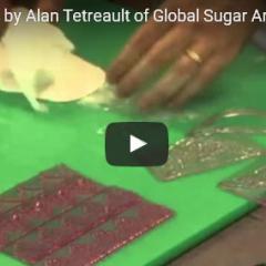 Izdelava čipke za torto iz sladkorne mase