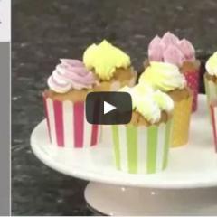 Večbarvno dekoriranje sladic