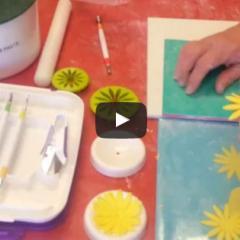 Uporaba orodja za cvetje in figurice