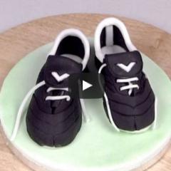 Kako izdelamo športni copat za torto