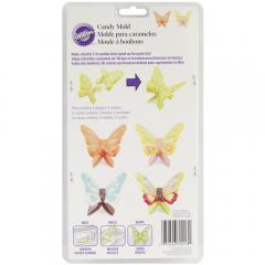 Dvodelni modelček za čokoladne metuljčke 3D