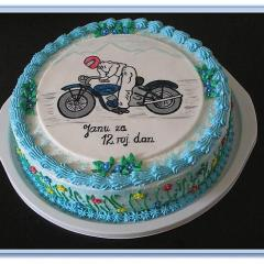 Torta MOTORIST