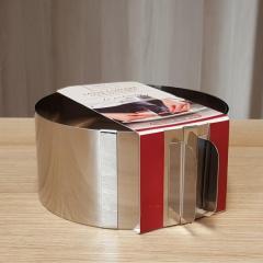 Nastavljiv obroč za peko OKROGEL - višina 7,6cm, pločevina