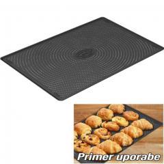 Perforirana - silikonska podloga za peko 37 x 27 cm