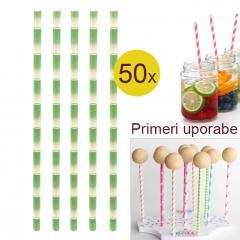 Palčke za Cake Pops ali slamce 50 kom št.2