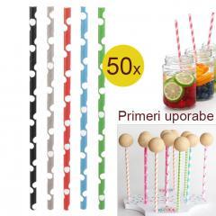 Palčke za Cake Pops ali slamce 50 kom št.3