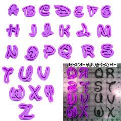 Disney črke za napise, 3 - 4cm