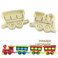 """Pop It"" modelček vlak, 2 delni"