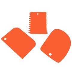 Set 3. mehkejših kartic, oranžne