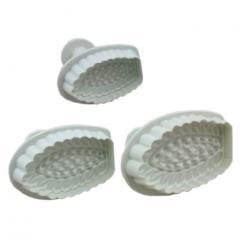 Modelčki čipke št.2, 3 delni na vzvod