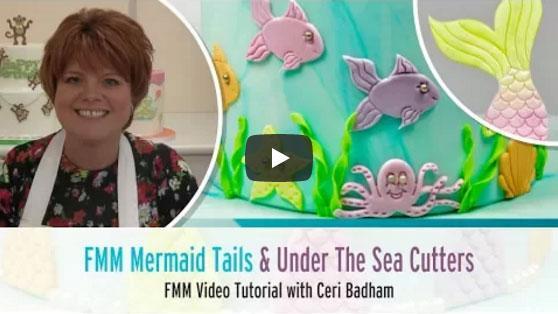 Kako naredimo morsko sireno, Arielo, ali morski motiv