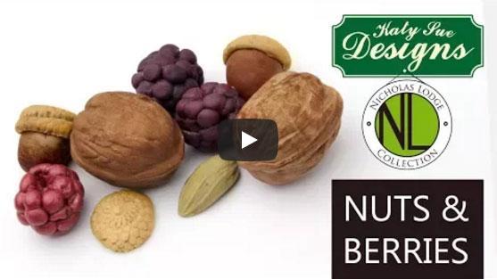 Izdelava orehov s fondantno ali sladkorno pasto