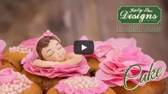 Izdelava dojenčka za torto iz sladkorne mase